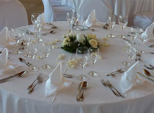 Hochzeits Tischdokoration - Blumenladen Ergolding