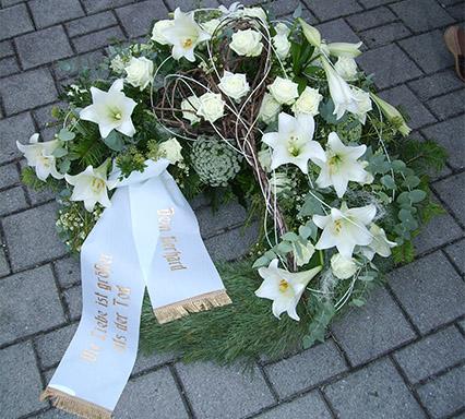 Trauerkranz - Blumenladen Ergolding
